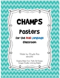 CHAMPS Posters for Dual Language Classroom
