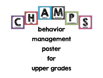 CHAMPS Posters with polka dots (square expectations)