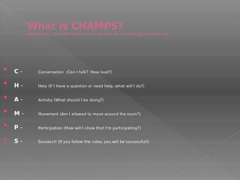 CHAMPS Powerpoint