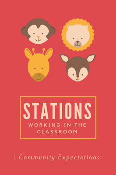 CHAMPS Recess and Stations Pack: Animal Theme