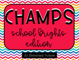 CHAMPS School Brights Edition Poster/Clip Chart