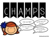 CHAMPS (black or red option)