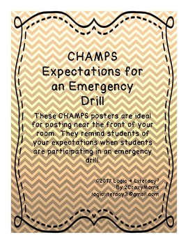 CHAMPS expectations for emergencies