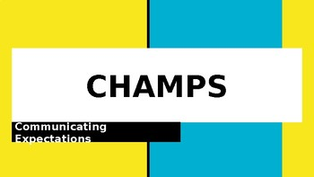 CHAMPS for Every Activity