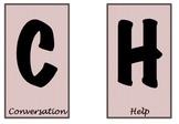 CHAMPS labels -- chevron