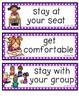 CHAMPS Bulletin Board Cards