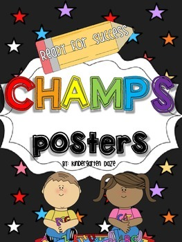 CHAMPS posters