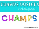 CHAMPS posters Color Pop!