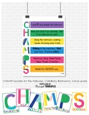 CHAMPS schoolwide posters