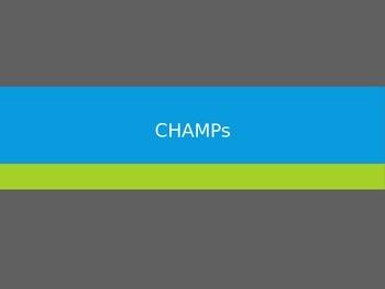 CHAMPs- Bundle PPT