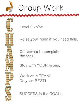 CHAMPs (CC3) Group Work