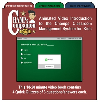 CHAMPs Classroom Management Companion, Full Version