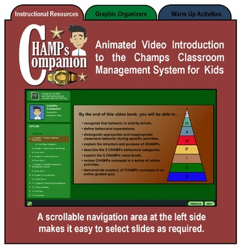 CHAMPs Classroom Management Companion, Full Version