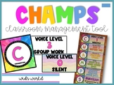 CHAMPs Classroom Management Tool