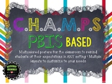 CHAMPs a PBIS Classroom Management Strategy
