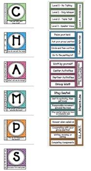 CHAMPs Poster- Editable! COLOR quatrefoil pattern