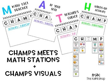 CHAMPs based Math Stations
