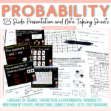 CHANCE AND PROBABILITY: EDITABLE POWER POINT: GUIDED NOTES