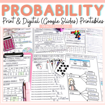 CHANCE AND PROBABILITY: NO PREP PRINT-N-GO SHEETS