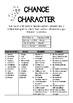 CHANCE CHARACTER Drama Activity
