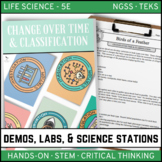 CHANGE OVER TIME & CLASSIFICATION - Demos, Labs and Science Stations