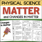CHANGES IN MATTER Interactive Science Book - Physical and Chemical Changes