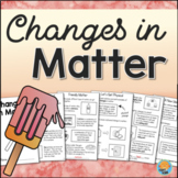 Physical and Chemical CHANGES IN MATTER Interactive Science Book
