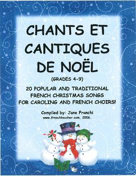 CHANTS ET CANTIQUES DE NOEL