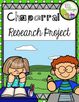 CHAPARRAL Research/Report Project Booklet