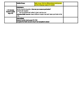 CHAPTER 11 ALL LESSONS GO MATH GRADE 3 2014-2015 NY