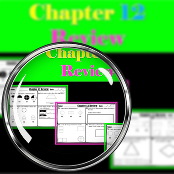 """CHAPTER 12 REVIEW """" GO MATH"""""""