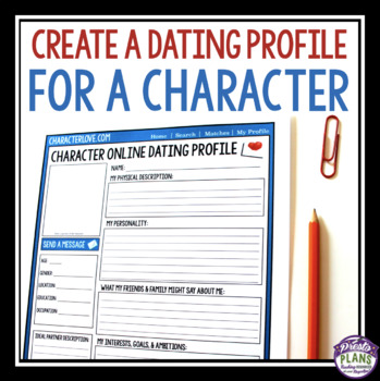 Online dating profile story