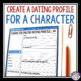 CHARACTER ASSIGNMENT: Dating Profile