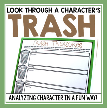 CHARACTER ASSIGNMENT: Trash Treasures