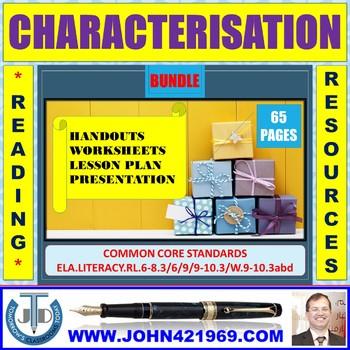 CHARACTER DESCRIPTION: BUNDLE
