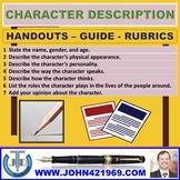 CHARACTER DESCRIPTION GUIDE: HANDOUTS