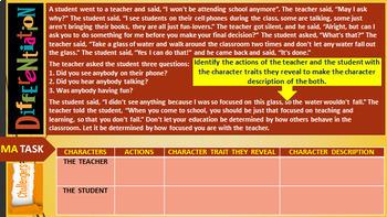 CHARACTERIZATION LESSON PRESENTATION