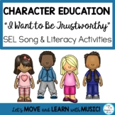 """Song: """"I Want to be Trustworthy"""" Character Education, Literacy Activities, Mp3"""