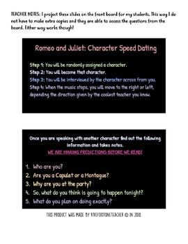 romeo romeo speed dating