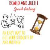 CHARACTER SPEED DATING! Romeo and Juliet