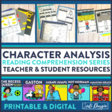 CHARACTER TRAITS read aloud lesson and activities