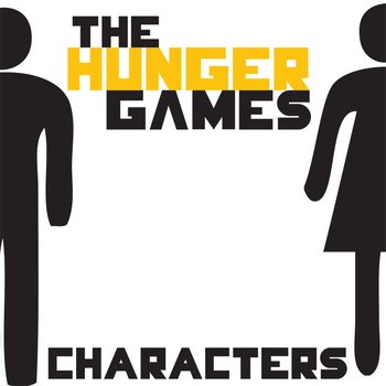 THE HUNGER GAMES Characters Organizer (by Suzanne Collins)