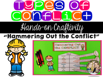 Types of Conflict Craftivity