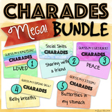 CHARADES BUNDLE! 3 Games included: Emotions, Gestures & Social Skills Charades