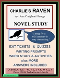 CHARLIE'S RAVEN Novel Study - Complete