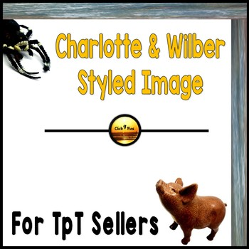 Styled Image: CHARLOTTE'S WEB Commercial Use