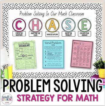 C.H.A.S.E. - Math Problem Solving Strategy.