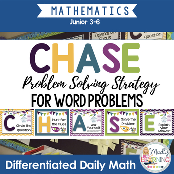 C.H.A.S.E. - Math Problem Solving Strategy.