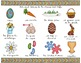 CHASSE AUX OEUFS - Mots de vocabulaire /24 affiches (script et cursif)