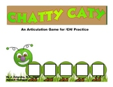 CHATTY CATY An Articulation Game for /CH/ Practice- Speech Therapy